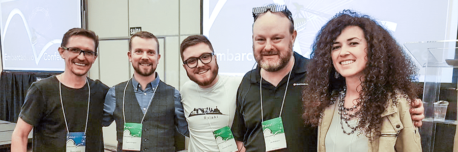 Participação da Desbravador na Embarcadero Conference 2018
